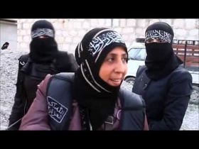 Meet Syria's extremist female fighters