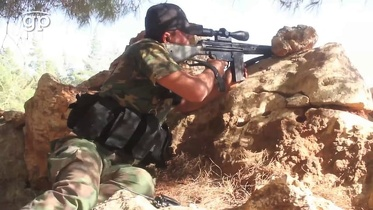 On the front lines with a Free Syrian Army unit
